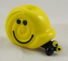 Smiley Yellow Snail