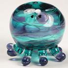 Purple & Teal Octopus