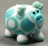 Turquoise Spotted Pig