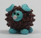 Brown & Turquoise Sheep