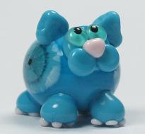 Turquoise Blue Murrini Fat Cat