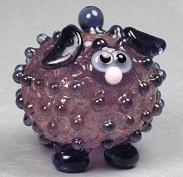 Transparent Bubbly Purple Sheep