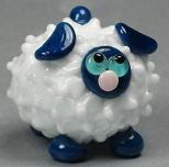 White and Blue Sheep