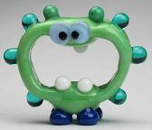 Green & Blue Alien