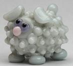 Frosty Blue Sheep