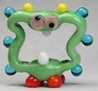 Crazy Green Alien