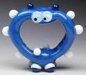 Blue Screaming Alien