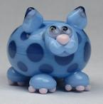 Periwinkle & Ink Blue Cat