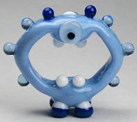 Blue Cyclops Alien