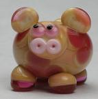 Opal Yellow & Pink Cow