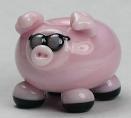 Lampworking Pig