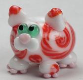 Coral Twistie Swirled Cat