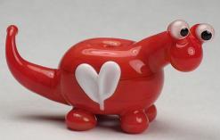 Red Love Dino