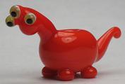 Orange Alien Dino