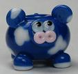 Dark Blue Clouded Cow