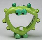Screaming Green Alien