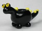 Black & Yellow Dino