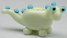 Pale Green & Aqua Dinosaur