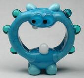 Screaming Turquoise Alien