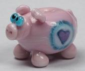 Heart Murrini Pig