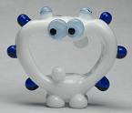 White & Blue Alien