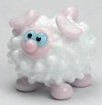 White & Pink Sheep