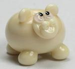 Silver Pink Hippo