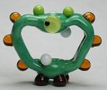 Green Cyclops Alien