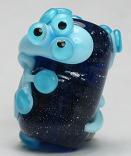 Blue Alien Lizard