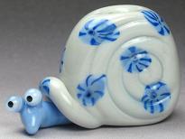 Blue & Grey Snail