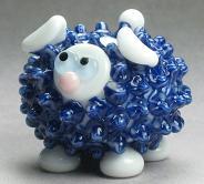 Blue & White Fancy Sheep