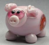 Pink Pig W/ Dichro Murrini