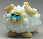 Opal Yellow & White Sheep