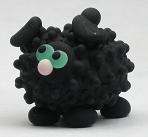 Black Primer Etched Sheep