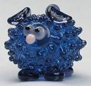 Ink Blue Transparent Sheep