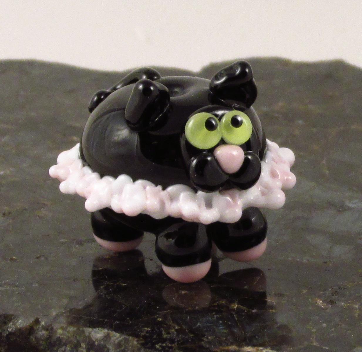 Black Ballerina Cat