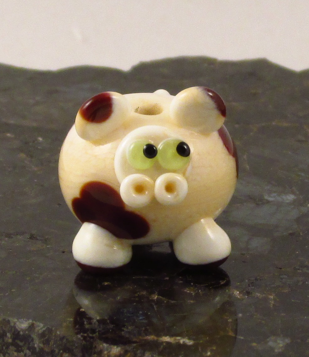 Ivory & Brown Cow
