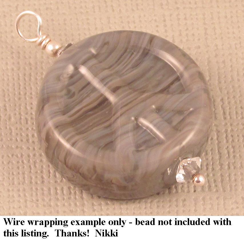 Wire Wrap Into A Pendant